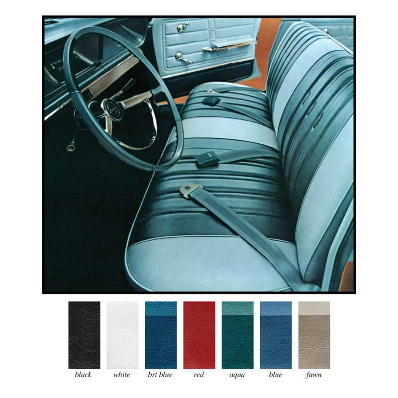 1966 chevrolet impala parts interior soft goods seat upholstery upholstery kits classic. Black Bedroom Furniture Sets. Home Design Ideas
