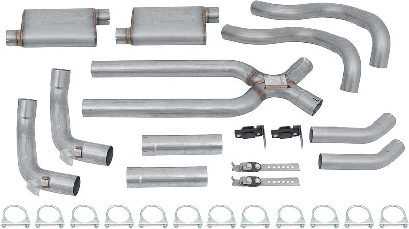 Chevrolet Nova Parts Exhaust Mufflers And Pipes Full