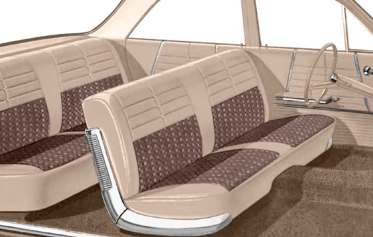Admirable 1964 Chevrolet Impala Parts Interior Soft Goods Seat Gmtry Best Dining Table And Chair Ideas Images Gmtryco
