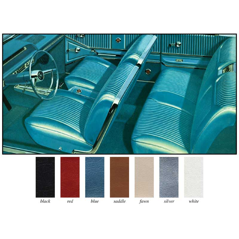 1964 chevrolet impala parts interior soft goods seat upholstery upholstery kits classic. Black Bedroom Furniture Sets. Home Design Ideas