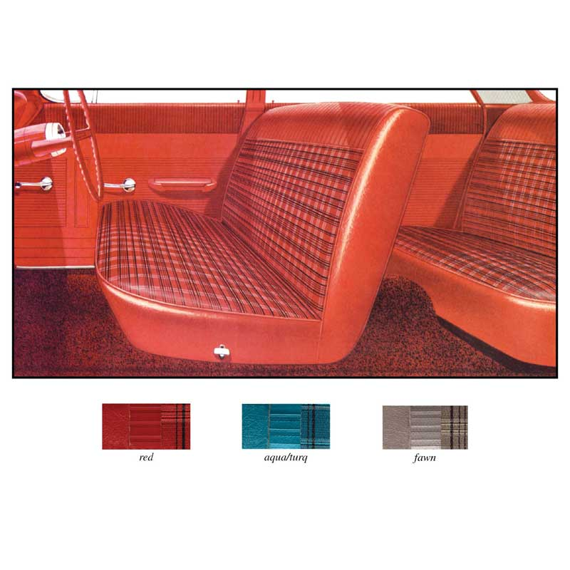 1962 impala parts interior soft goods seat upholstery upholstery kits classic industries. Black Bedroom Furniture Sets. Home Design Ideas