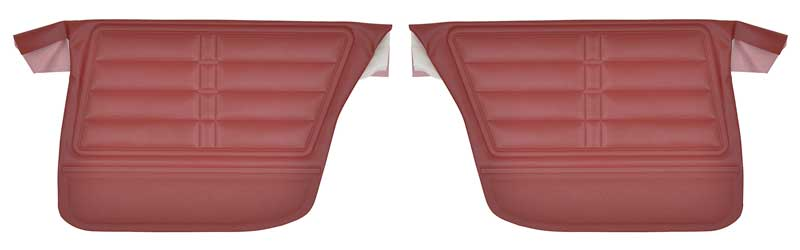 1966 Chevrolet Impala /& SS Coupe Preassembled Rear Side Panel Pair