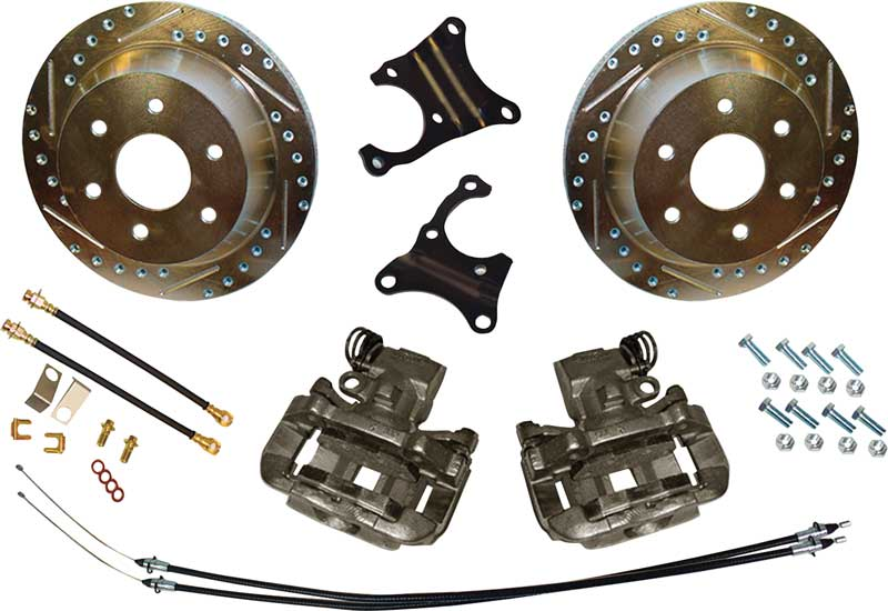 how to change drum to disc brakes