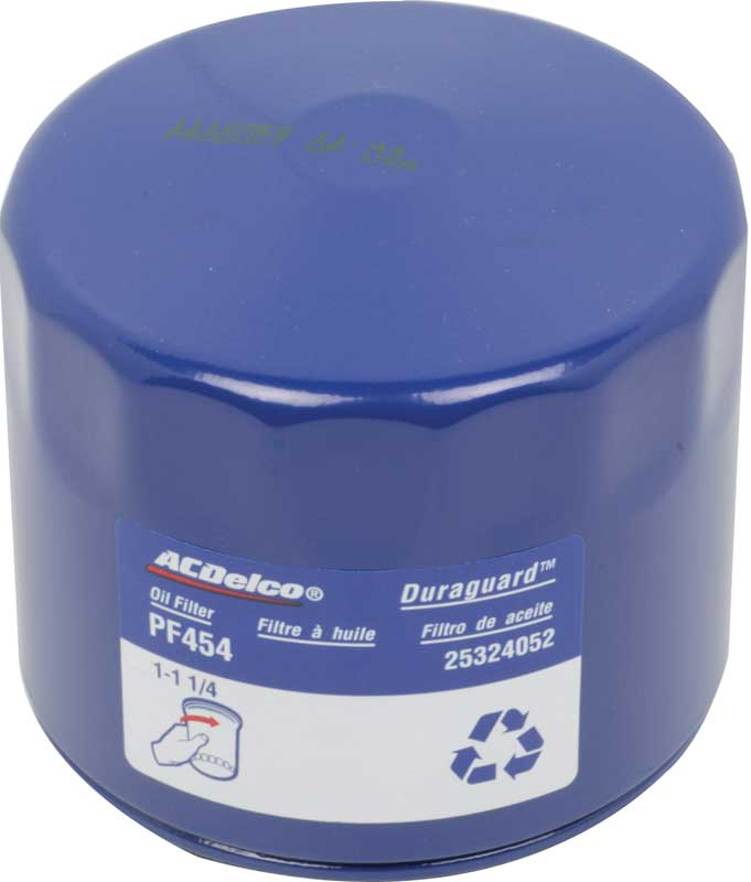 1982-2007 All Makes All Models Parts | PF454 | Chevy/Pontiac L6 or SB V8 AC  Delco Professional Series Blue PF454 Oil Filter - Modern Specs & Color |