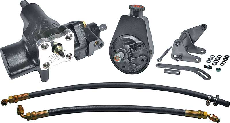 1965-70 Impala Power Steering Conversion Hose Kit for GM 605 Gear Box Rubber