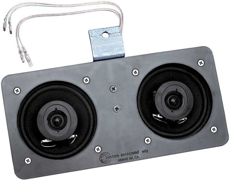 1970 Chevrolet Truck Parts Audio And Security Speaker