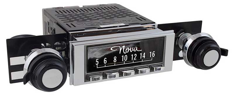 Chevrolet Nova Parts Audio And Security Classic Industries