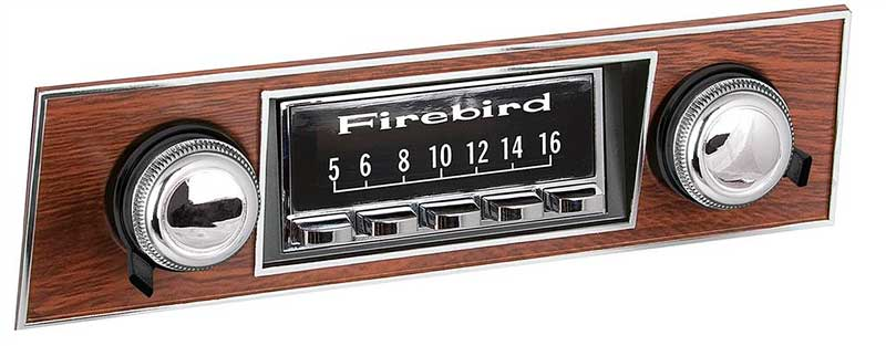 1967-2002 All Makes All Models Parts | SCP29 | RetroSound Radio Screen  Protectors With Firebird Block Lettering Logo - Set of 3 | Classic  Industries