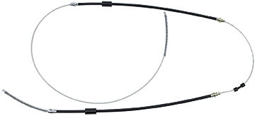 For 1955-1957 Chevrolet Two Ten Series Parking Brake Cable Dorman 86439ZH 1956