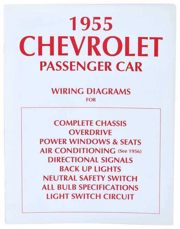 Chevrolet Bel Air Parts Literature Multimedia Literature Wiring