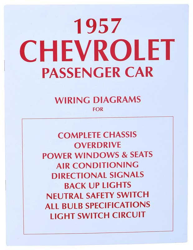 1957 chevrolet bel air parts literature multimedia literature 57 Chevy Wiring Light Switch product tf250026