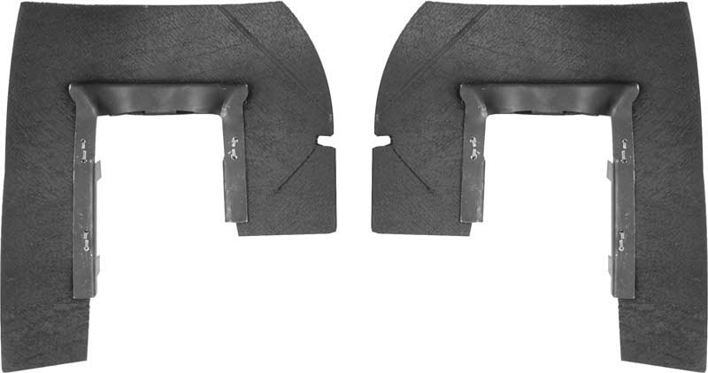 chevrolet under tail lamp dust seals with retainers