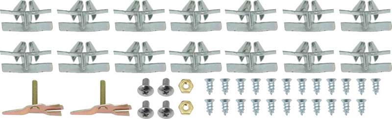 1955-57 Chevy Lower Front Windshield Molding Clips