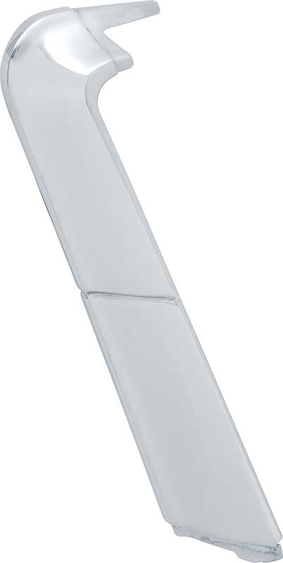 Stainless Steel Ecklers Premier Quality Products 57-131407 Chevy Quarter Panel Molding Bel Air /& 210 2-Door, Upper Long Left