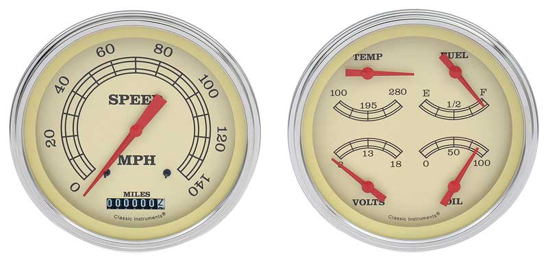 1955 chevy truck instrument cluster