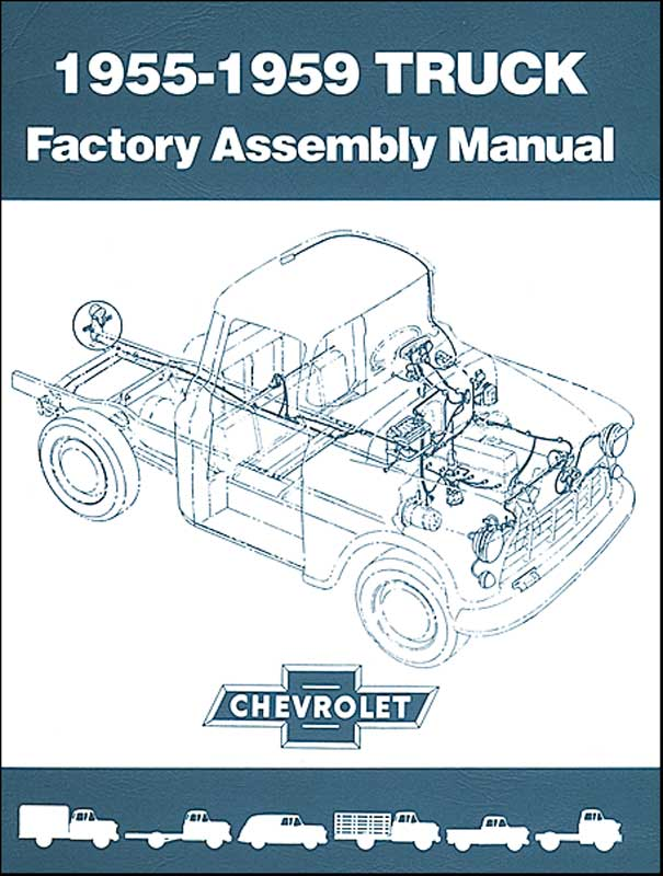 94 Chevy Truck Assembly Manual - Owners Manual Book •