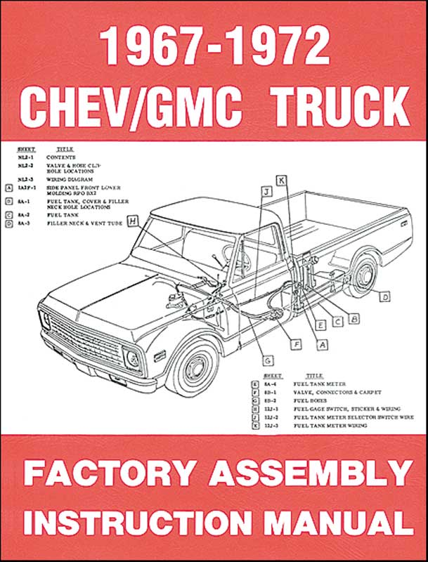 1968 Chevy Truck Parts Diagram - Electrical Work Wiring Diagram •
