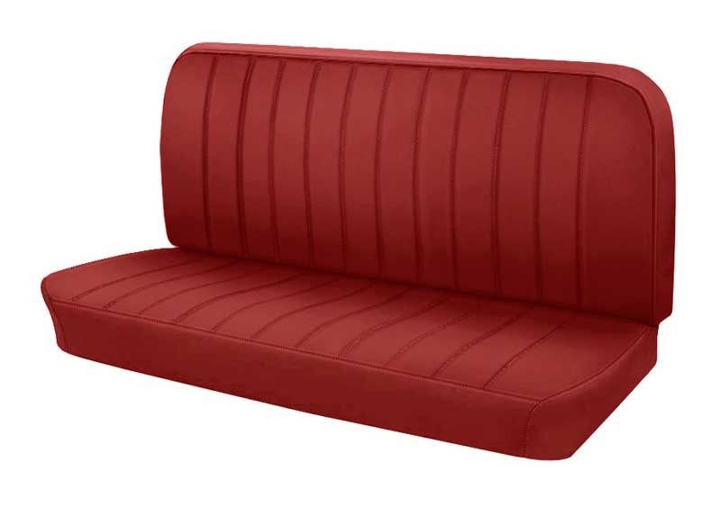 Remarkable 1947 1955 Chevrolet Truck Parts W1024700202 1947 55 Gm Truck Pleated Vinyl Bench Seat Upholstery Set Red Classic Industries Theyellowbook Wood Chair Design Ideas Theyellowbookinfo
