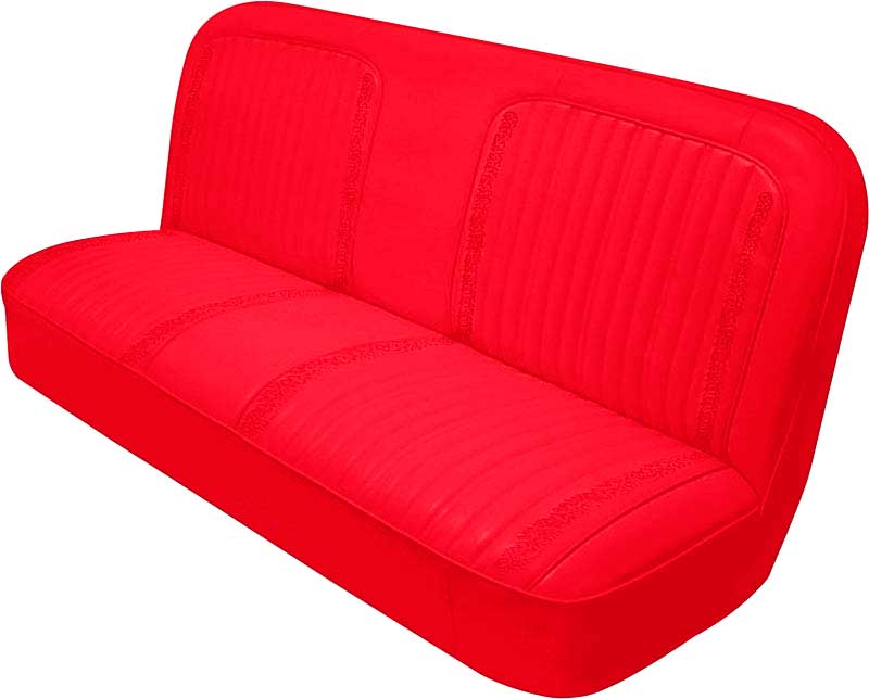 Phenomenal 1971 1972 Chevrolet Truck Parts W1057100254 1971 72 Cheyenne Truck Bench Seat Upholstery Bright Red Classic Industries Gmtry Best Dining Table And Chair Ideas Images Gmtryco