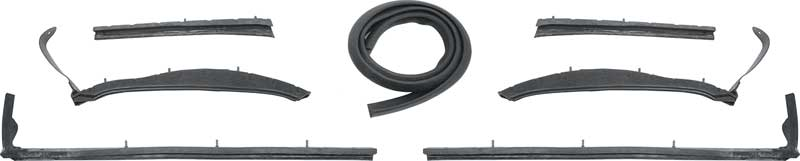 1964 chevrolet impala parts weatherstrip complete seal kits classic industries. Black Bedroom Furniture Sets. Home Design Ideas