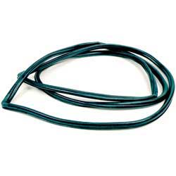 Windshield Rubber Weatherstrip Seal, With Chrome Trim for 1963-1964 GM Hardtop