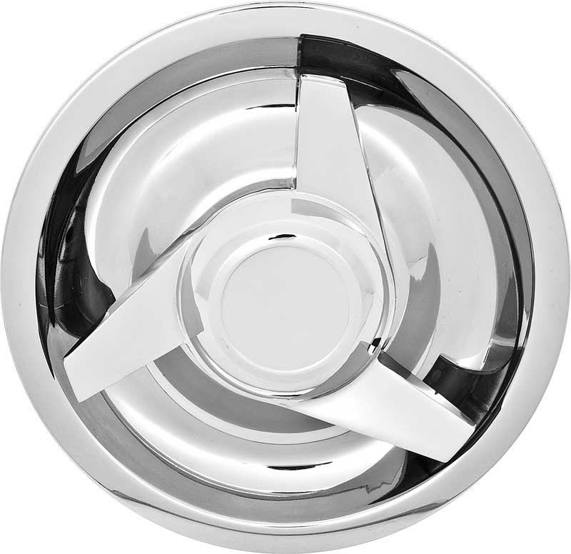 PREMIUM QUALITY CHROME PLATED SPINNERS FOR RALLY WHEEL CENTER CAPS KNOCK-OFFS