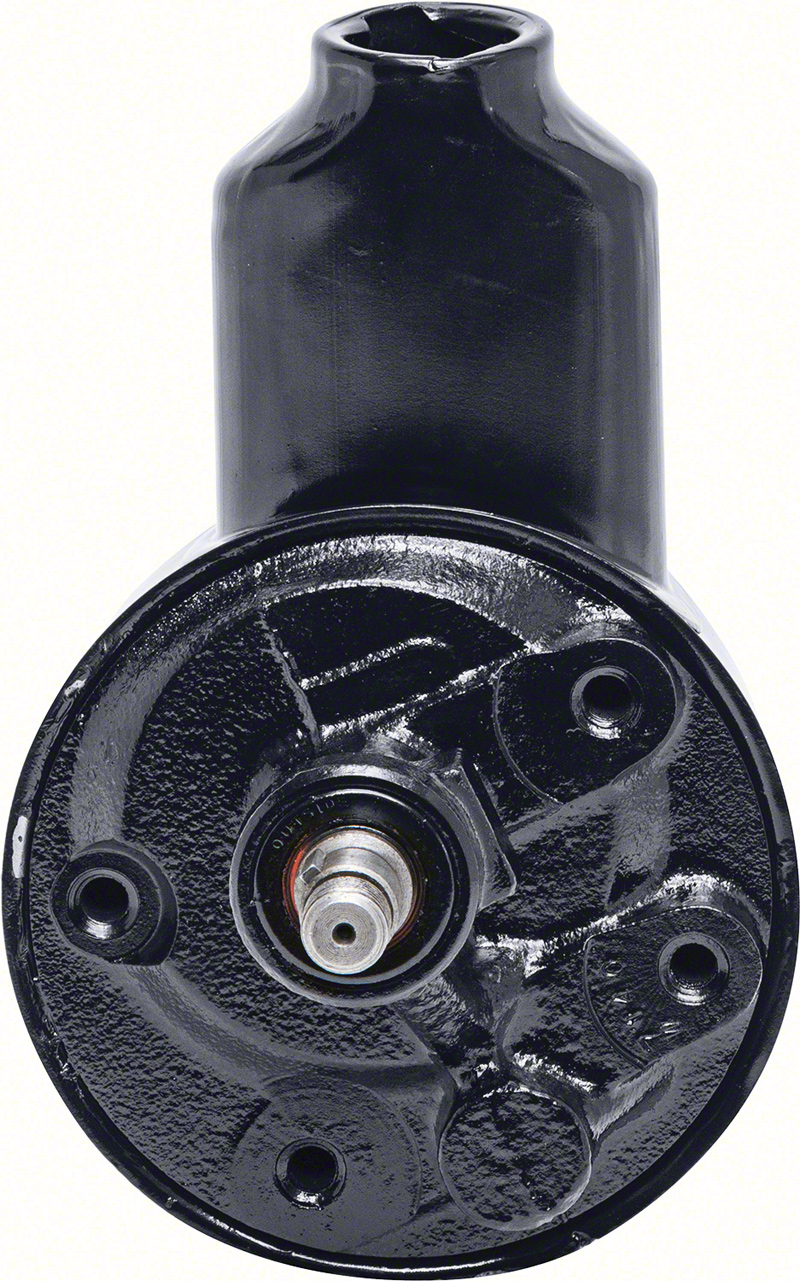 1967-69 Remanufactured Power Steering Pump with Banjo Style Reservoir