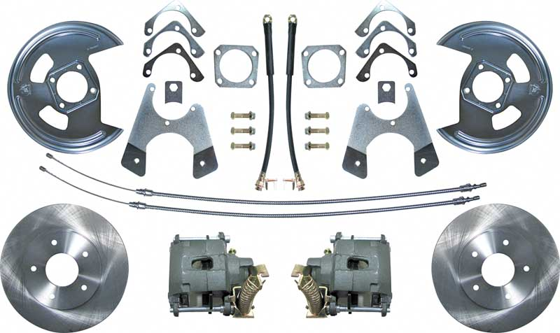 chevrolet disc brake conversion kits instructions
