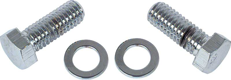 Water Neck Bolts (2) Short Bolts with Chrome Finish