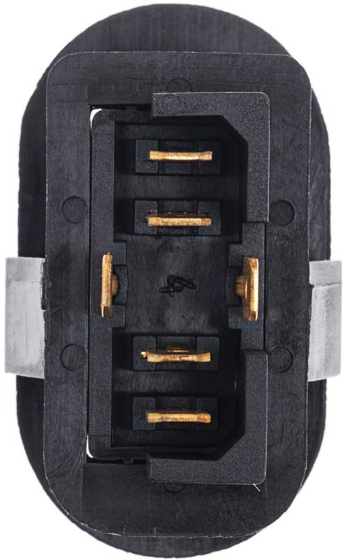 3 Position Oval Rocker Switch With Amber Indicator