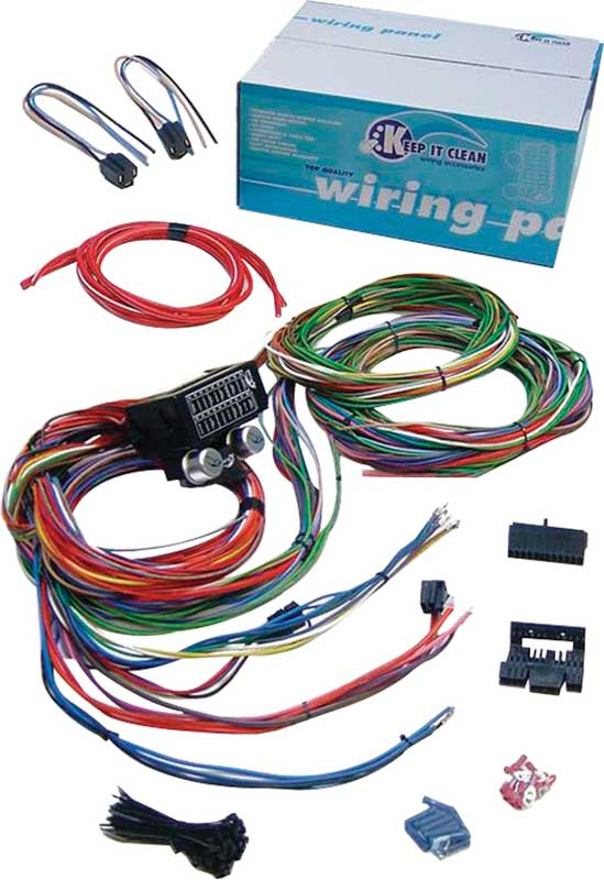 Keep It Clean Pro Series Ultra Small 15 Fuse 24 Circuit 118 Terminal Wire Harness System