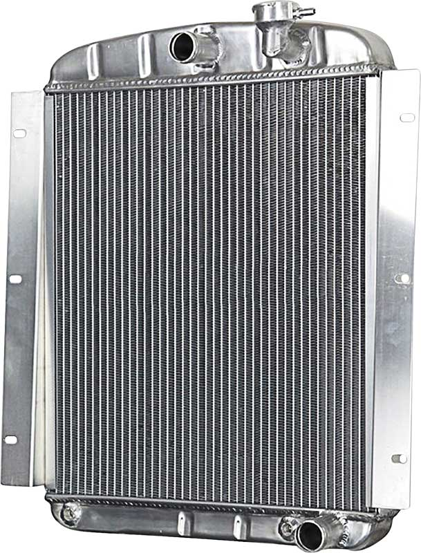 1948-54 GMC 1/2-3/4 Ton Aluminum Radiator With Manual Transmission - All Engines