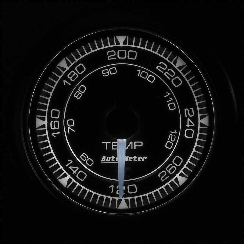 AutoMeter Chrono Series 2-1/16 120-280° Tempurature Gauge