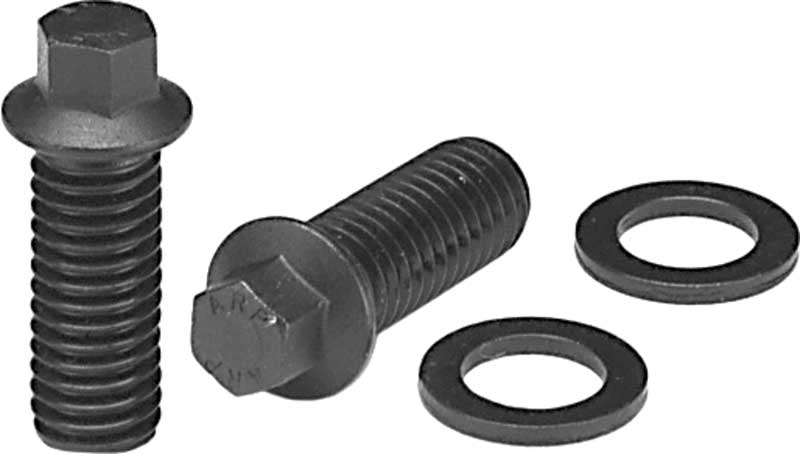Chevrolet Small Block Black Oxide Hex Head 3/8 x 1 Header Bolt Set