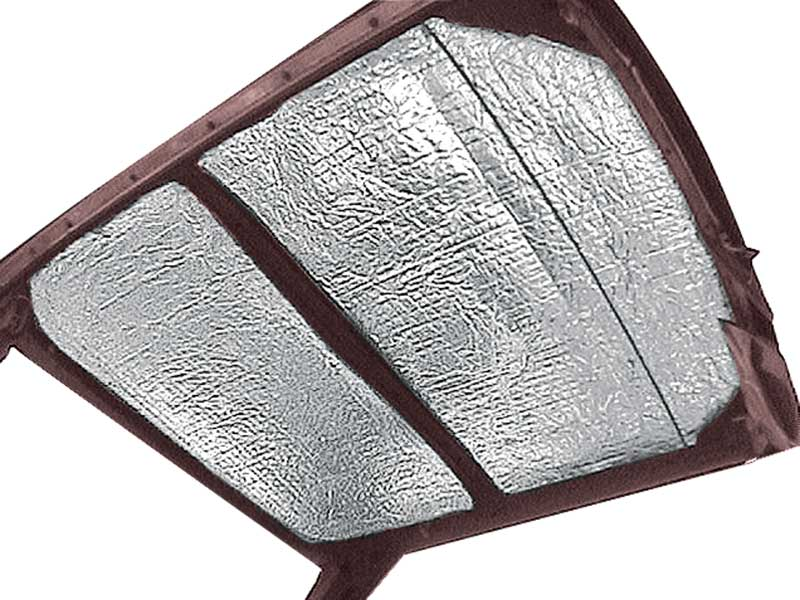 1962-1967 All Makes All Models Parts | AS316 | 1962-67 Chevy II / Nova 2  Door acousti Shield Roof Insulation Set | Classic Industries