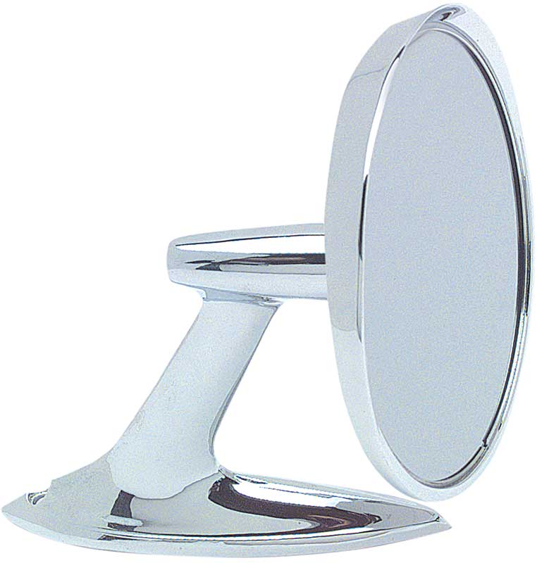1961-62 Impala; 1962 Chevy II/Nova; 1960-1963 GM Truck; Outer Door Mirror With Bow Tie Logo