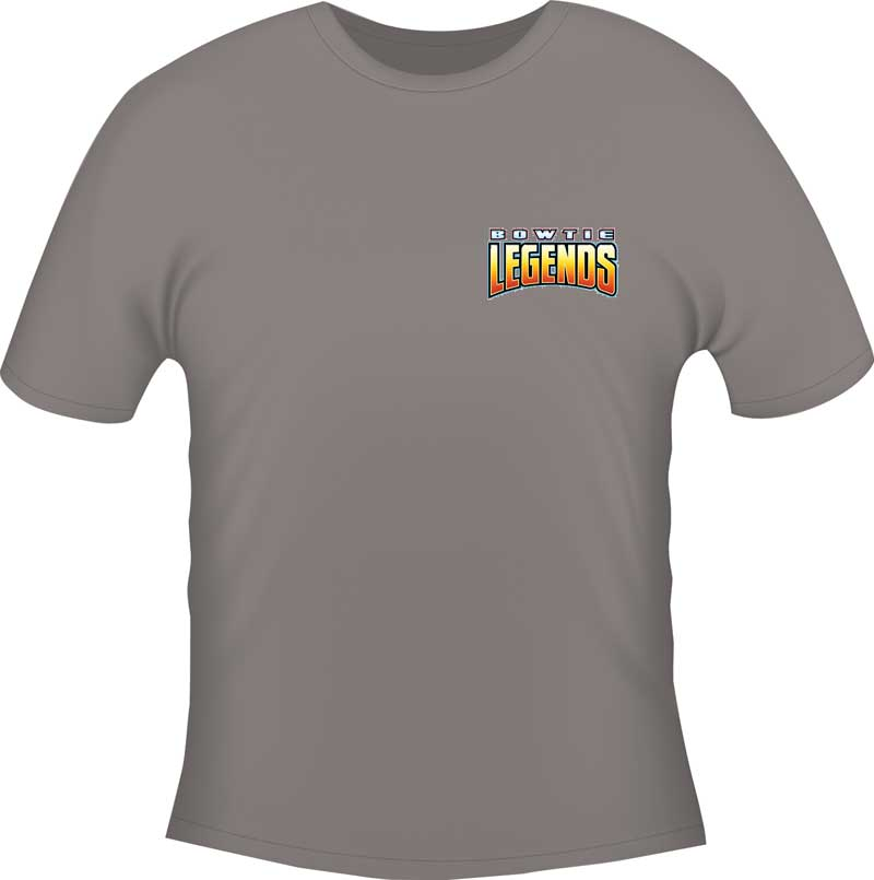 Impala Bow Tie Legends T-shirt - Gray - Xxx-Large