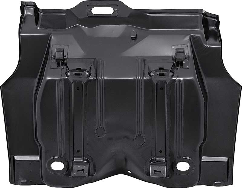 1970-73 F-Body Complete Trunk Floor Pan - Edp Coated
