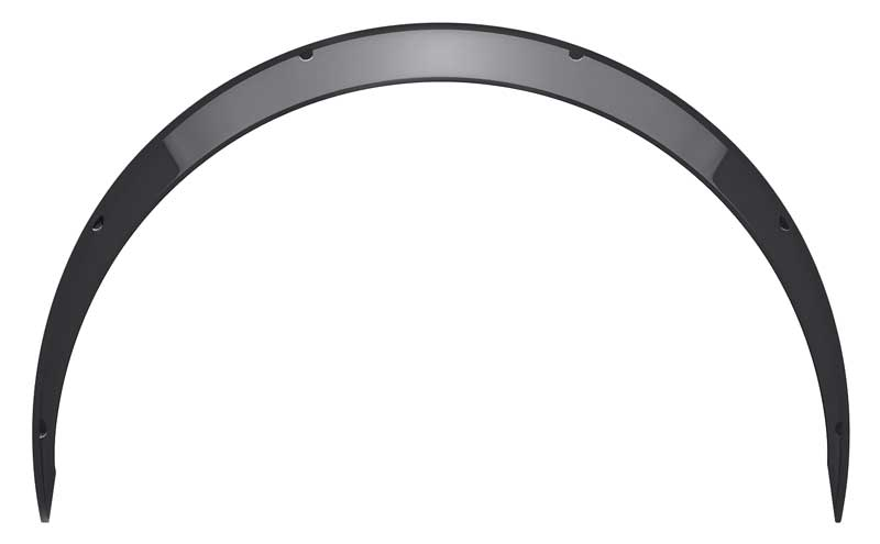 Clinched Classic Style 1.2 Wide Universal Fender Flares - Pair
