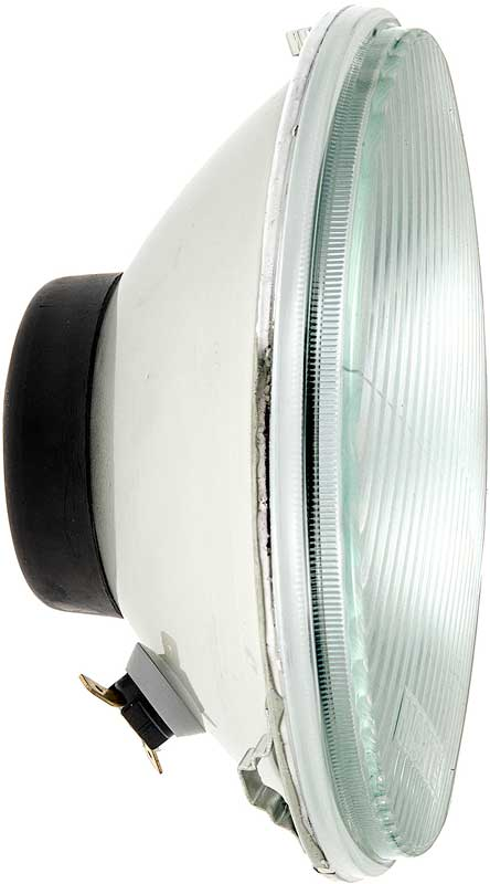 7 Headlight W/ 1893 accent Socket - H4