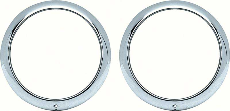 HEADLIGHT BEZELS CHEVROLET CAR AND TRUCK  BEZEL CLIPS AND RINGS 1947 TO 1955