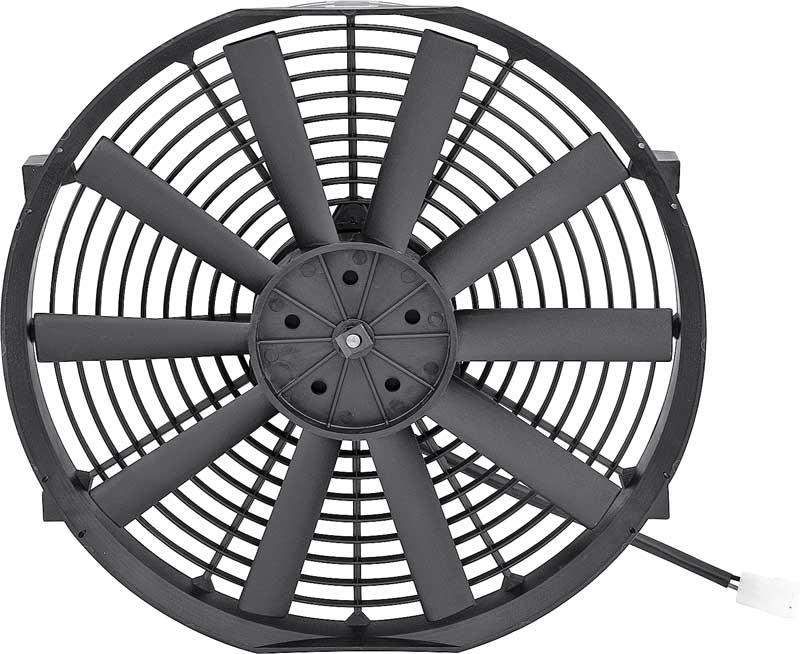 14 High Performance Electric Fan with Red Bow Tie on Shroud