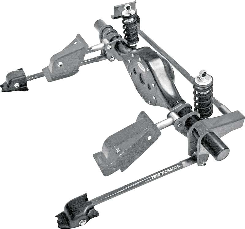1968-74 X-Body Detroit Speed Quadralink Rear Suspension With Coilovers