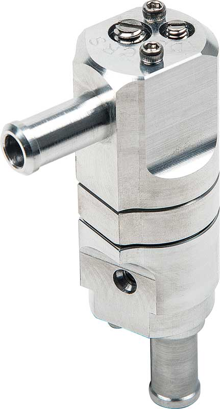 BILLET DUAL FLOW PCV VALVE INLINE ADAPTER