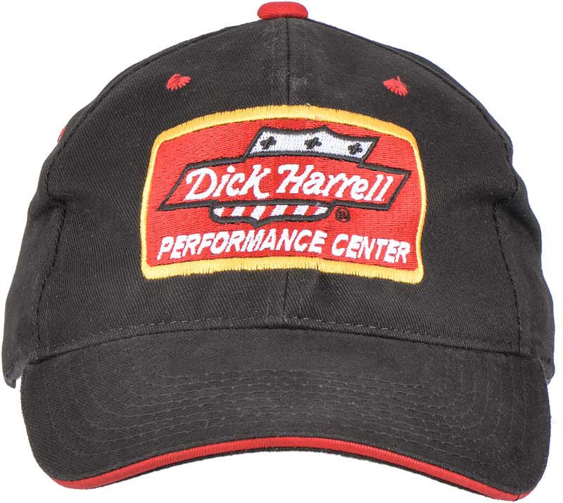 Dick Harrell Black Performance Center Cap