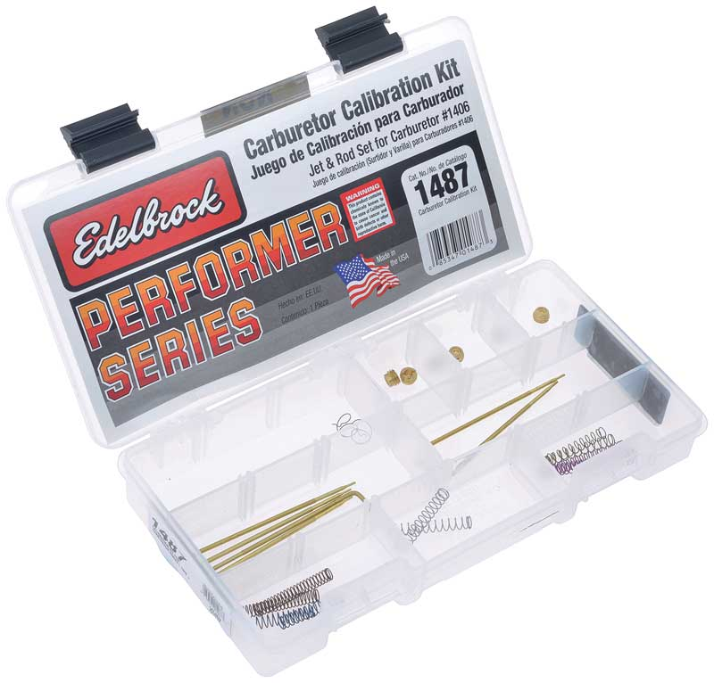 Edelbrock Performer Series® Model 1406 Carburetor Calibration Set