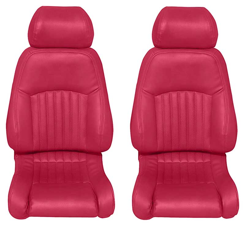 1993-96 Firebird - Deluxe Vinyl Upholstery Set (Perforated) -Red