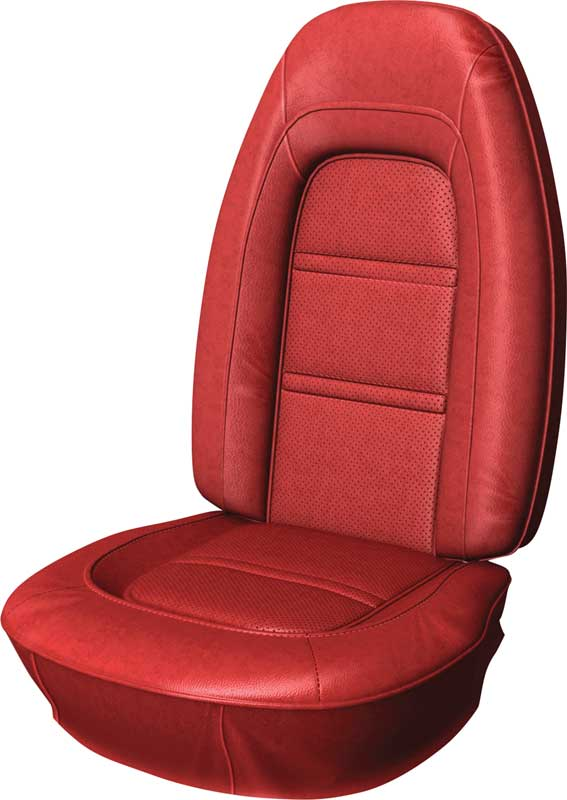 73-75 Deluxe Firebird Front Only Upholstery Red