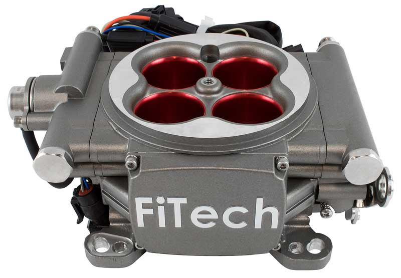 FiTech Go Street Self Tuning Fuel Injection 400HP Cast Finish EFI Master Kit w/ Inline Pump