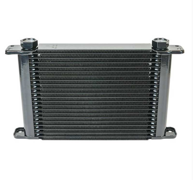 Flex-A-Lite 21 Row Engine Oil Cooler w/out Fan (7/8 -14 Fine Thread Fittings)